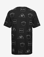 Scotch & Soda - Crew neck tee with allover print - short-sleeved t-shirts - combo b - 1