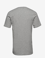 Scotch & Soda - Cotton tee with wider neck rib - t-shirts basiques - grey melange - 1