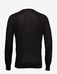 Scotch & Soda - Merino merino wool knit - tricots basiques - black - 1