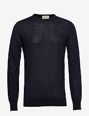 Scotch & Soda - Merino merino wool knit - tricots basiques - night - 0