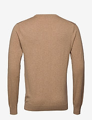Scotch & Soda - NOS Cotton cashmere crewneck knit - knitted round necks - camel melange - 1