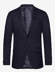 Scotch & Soda - NOS Pique and constructed blazer - enkelknäppta kavajer - navy - 0