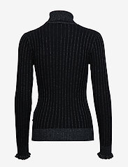 Scotch & Soda - Turtle neck in knitted rib with details - turtlenecks - night - 1