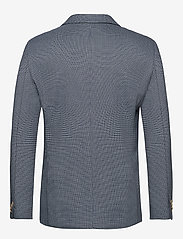 Scotch & Soda - Classic blazer in structured yarn-dyed pattern - blazers à boutonnage simple - combo a - 1