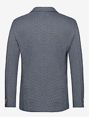 Scotch & Soda - Classic blazer in structured yarn-dyed pattern - enkeltradede blazere - combo a - 1