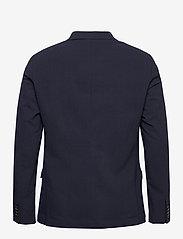 Scotch & Soda - Classic half-lined summer seersucker blazer - blazers à boutonnage simple - midnight - 1