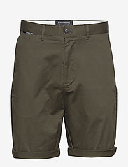 Scotch & Soda - Mid length - Classic chino short in pima cotton quality - chinos shorts - military - 0