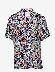 Scotch & Soda - HAWAII FIT- Viscose Hawaii shirt - kortærmede skjorter - combo a - 0