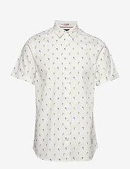 Scotch & Soda - REGULAR FIT- All-over printed shortsleeve shirt - kortærmede skjorter - combo d - 0