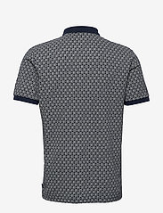 Scotch & Soda - All-over printed polo in stretch pique quality - short-sleeved polos - combo a - 1
