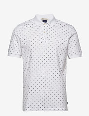 Scotch & Soda - All-over printed polo in stretch pique quality - short-sleeved polos - combo b - 0