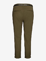 Scotch & Soda - Regular fit chino, sold with a belt - chinos - military - 1