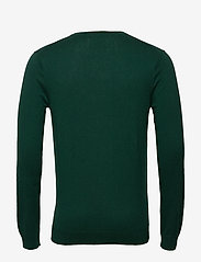 Scotch & Soda - Ams Blauw cotton cashmere crew  neck pull - tricots basiques - green smoke - 1