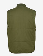 Scotch & Soda - Light weight padded reversible bodywarmer - vests - military green - 1