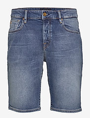 Scotch & Soda - Ralston Short - Midday Blauw - denim shorts - midday blauw - 0