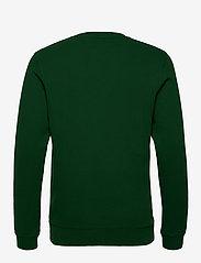 Scotch & Soda - Crewneck sweat with subtle chest artworks - basic sweatshirts - jungle green - 1