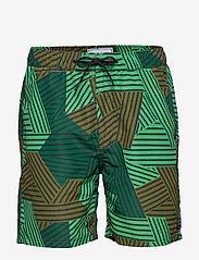 Scotch & Soda - All over printed swimshort - swim shorts - combo b - 0
