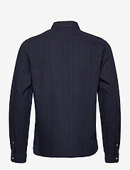 Scotch & Soda - Oxford long sleeve shirt with prints and yarn dyed stripes - checkered shirts - combo b - 1