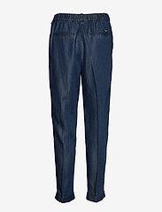 Scotch & Soda - Chino pant in drapey Tencel indigo quality - chinos - indigo - 2