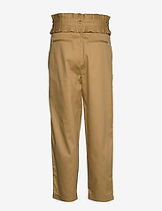 Scotch & Soda - Clean twill chino with detachable pleated belt - chinos - sand - 2