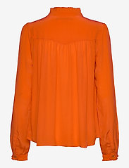 Scotch & Soda - Feminine shirt with pleated detailing - chemises à manches longues - orange shell - 2