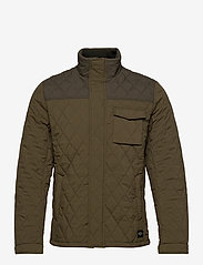 Scotch & Soda - Classic short quilted jacket - quilted jackets - military - 1