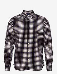 Scotch & Soda - REGULAR FIT- Chic tonal BB-check shirt - checkered shirts - combo c - 0