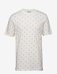 Scotch & Soda - Short sleeve tee with allover print - short-sleeved t-shirts - combo g - 0