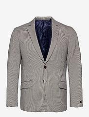 Scotch & Soda - Classic single breasted blazer in yarn-dyed pattern - blazers à boutonnage simple - combo f - 0