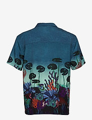 Scotch & Soda - TENCEL™ shirt with hawaiian details and placement print - chemises à manches courtes - combo a - 1