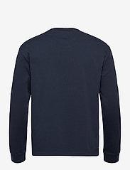 Scotch & Soda - Organic cotton-jersey longsleeve artwork tee - podstawowe koszulki - night - 1