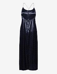 Scotch & Soda - Summer slip dress in wave jacquard quality - kveldskjoler - night - 1