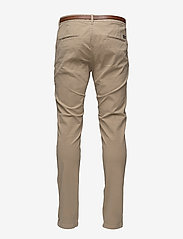 Scotch & Soda - Slim fit cotton/elastan garment dyed chino pant - chinos - sand - 1