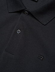 Scotch & Soda - - Classic polo in pique quality with clean outlook - short-sleeved polos - black - 2