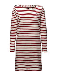 Classic breton dress with shoulder closure - 17 COMBO A