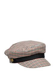 Blogger cap in menswear pattern - COMBO C
