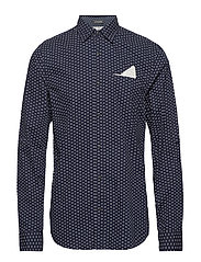 RELAXED FIT Classic shirt with chest pocket, fixed pochet an - COMBO B