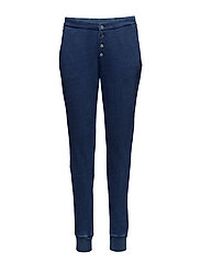 Home alone jogger with tailored detailing - INDIGO