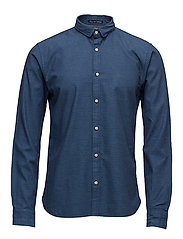 Longsleeve shirt in dobby patterns - COMBO A