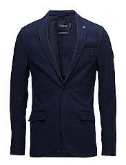 Casual unlined suit jacket - 51 INDIGO