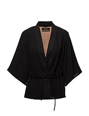 Celebration kimono blazer - 8 BLACK