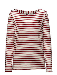 Classic breton tee with shoulder closure - 17 COMBO A