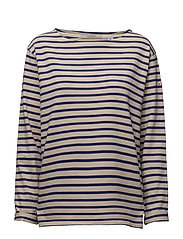 Classic breton tee in loose fit - 17 COMBO A