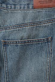 Scotch & Soda - Seasonal Denim Skirt - Customized Blauw - lyhyet - 2098 customized blauw - 4