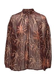 Drop shoulder blouse - COMBO P