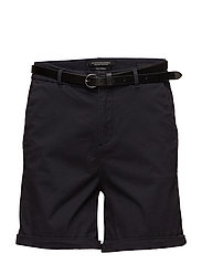 Prima cotton chino shorts - NIGHT