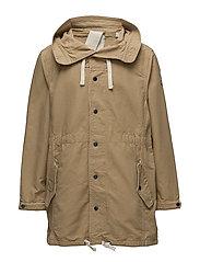 Indigo Lamplight parka jacket - KHAKI
