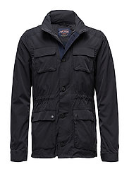 Ams Blauw 4 pocket military jacket - MIDNIGHT