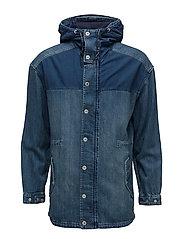 Ams Blauw denim jacket - DENIM BLUE