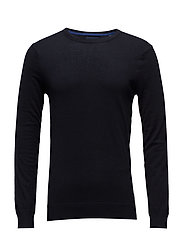 Ams Blauw crew neck knit regular fit - NIGHT